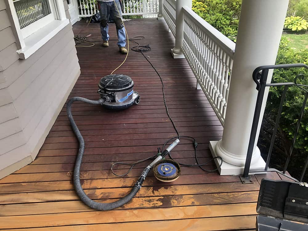 Deck Staining by JK Painting Service Corp